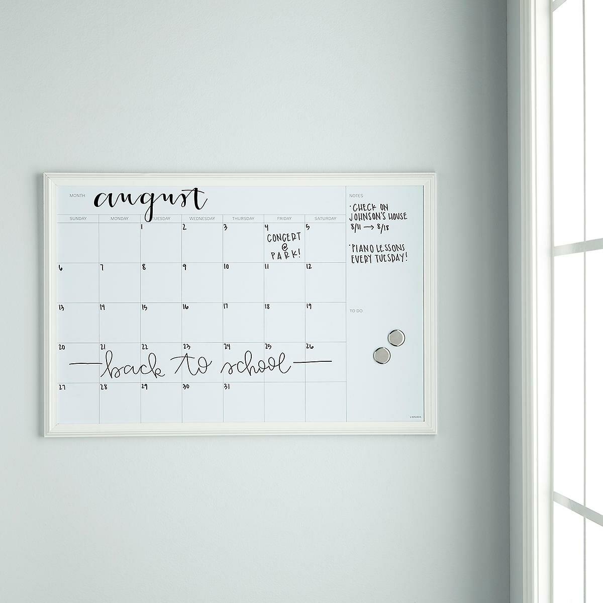 The Best Whiteboard Calendars Work From Home Adviser