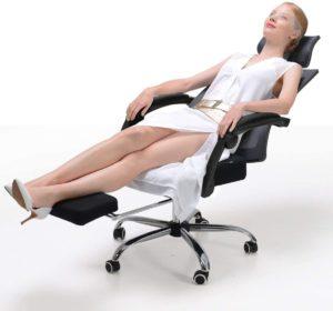 reclining ergonomic chair