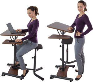 sit stand ergonomic desk